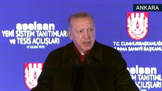 Erdoğan: Uydu fırlatma testleri ile 4 kez uzaya ulaştık