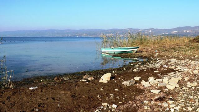 Sapanca Gölü'nde su seviyesi kritik noktada