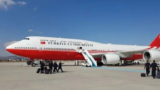 Cumhurbaşkanlığı'nın uçak filosu 5 ülkeyi de geçti