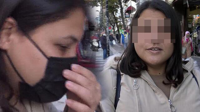 Maske takmayan kadın: Allah beni koruyor