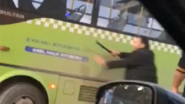Trafikte coplu saldırı!