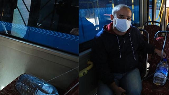 Toplu taşımada şaşıran koronavirüs önlemi