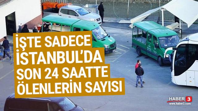 İşte İstanbul'da son 24 saatte bulaşıcı hastalıktan ölenlerin sayısı