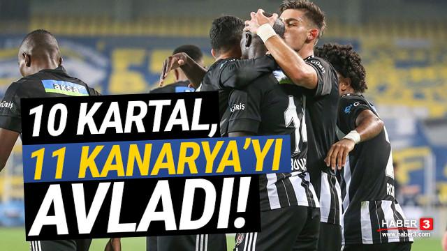 Beşiktaş, Fenerbahçe'yi Kadıköy'de devirdi