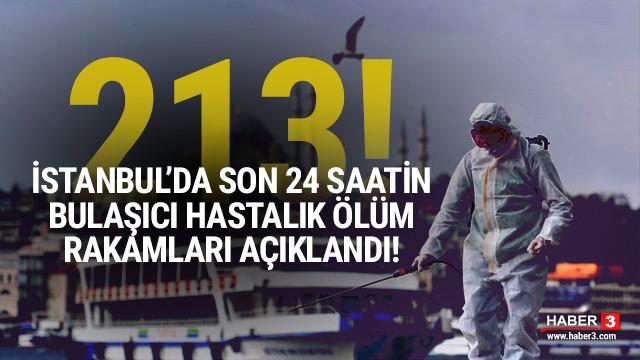 İBB açıkladı: İşte İstanbul'da son 24 saatte bulaşıcı hastalık ölüm sayısı!