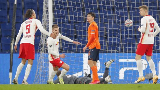 İrfan'ın Hat-trick'i yetmedi! Başakşehir 3-4 RB Leipzig