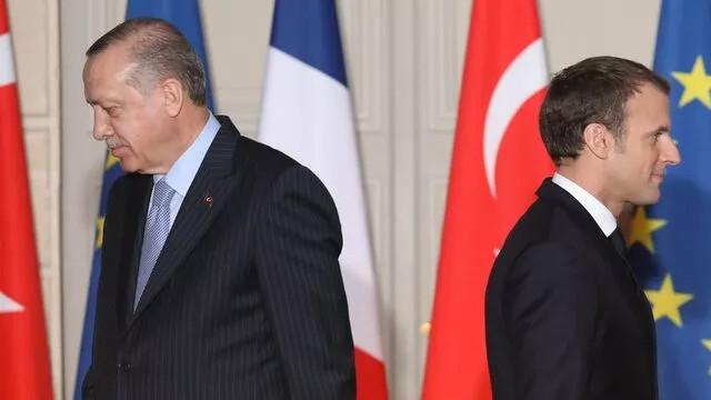 ''Macron Fransa'nın başına beladır'' demişti! Macron'dan Erdoğan'a yanıt