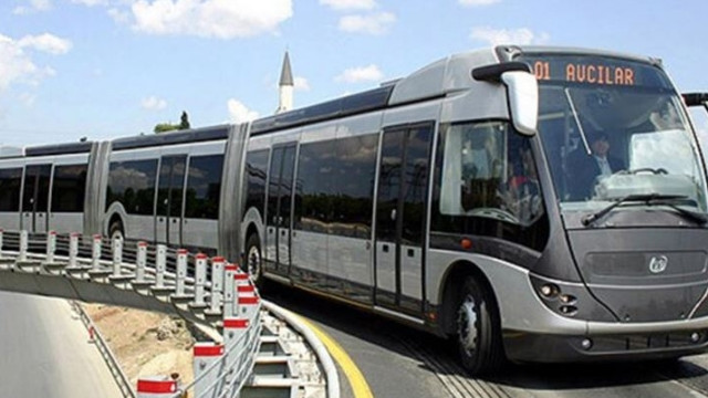 Cumartesi ve pazar günleri metrobüs ve otobüsler çalışacak