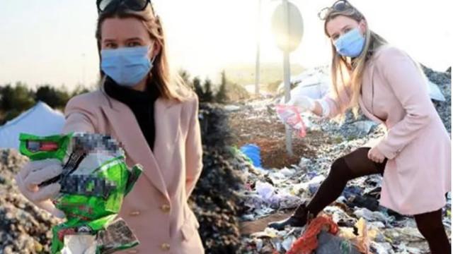 Avrupa'dan ithal çöpler yol kenarlarında!