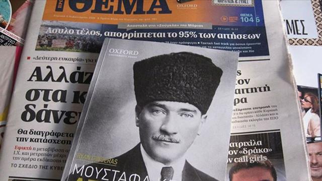 Yunanistan'da dikkat çeken Atatürk kitabı