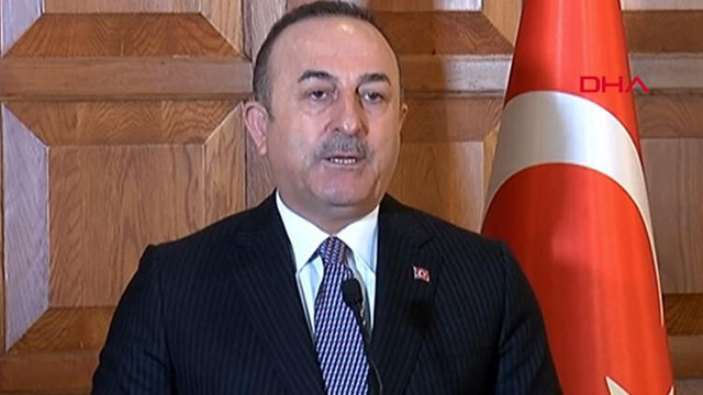 Bakan Çavuşoğlu'ndan Mustafa Akıncı'ya ağır sözler