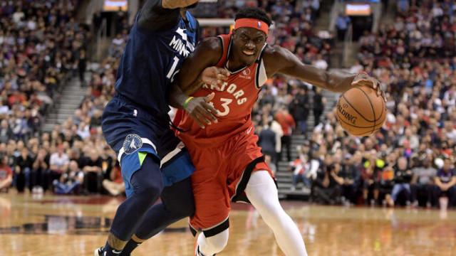 Toronto Raptors 137 - 126 Minnesota Timberwolves