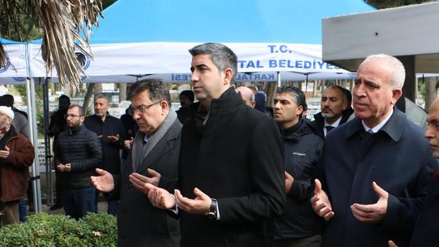 Başkan Yüksel son görev için Dağlar'ın cenaze törenindeydi