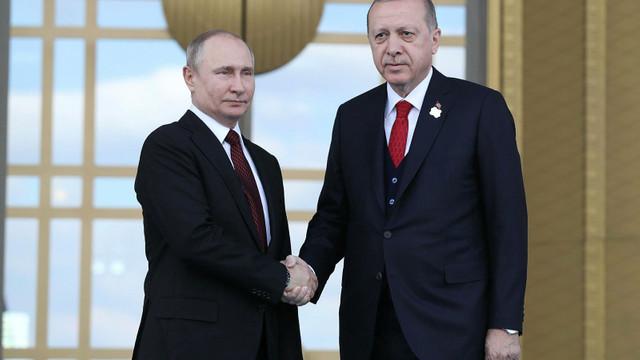 Putin ile görüşen Erdoğan'dan ilk açıklama