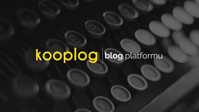 Kooplog, Blog Kültüründe Devrim Yapmayı Hedefliyor