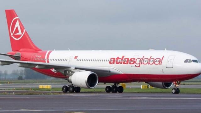 Atlasglobal tüm uçuşlarını durdurdu