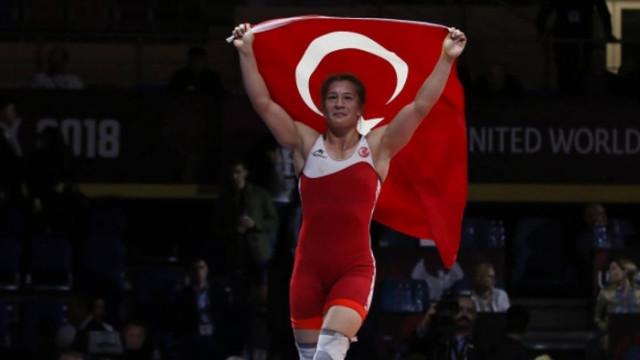 Avrupa Güreş Şampiyonası'nda Bediha Gün, Avrupa üçüncüsü oldu