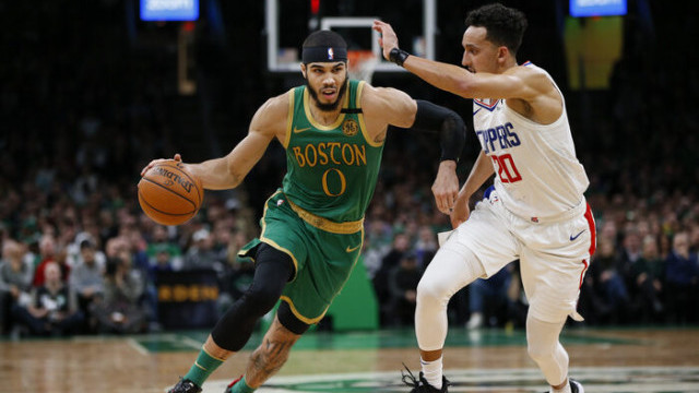 Boston Celtics 141- 133 Los Angeles Clippers (Jayson Tatum 39 sayı attı)