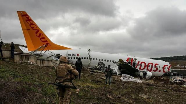 Kaza yapan uçağın yardımcı pilotu: Kule ''inmeyin'' demedi