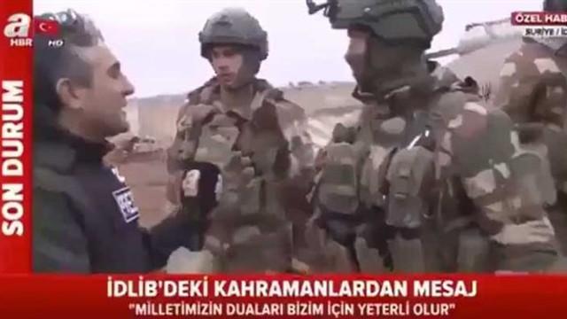 A Haber'den röportaj skandalı ! Askeri böyle taciz ettiler