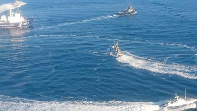 Rusya Ukrayna gemisine el koydu