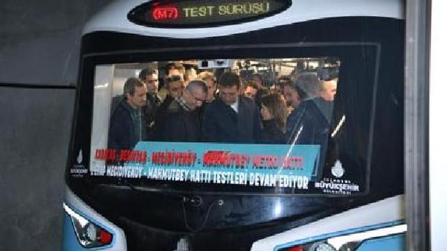 İmamoğlu tarih verdi ! Mecidiyeköy-Mahmutbey metrosu açılıyor