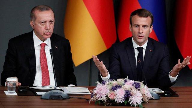 Macron'dan Türkiye'ye sert çıkış: ''Kabul edilemez''