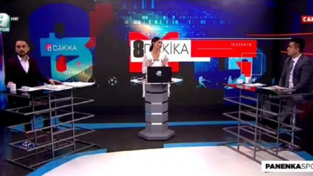 A Spor'da Setenay Cankat-Göktuğhan Argın kavgası