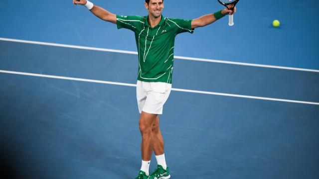 Avustralya Açık'ta şampiyon Djokovic