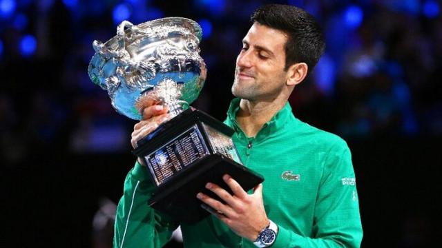 Djokovic, Avustralya Açık'ta 8. kez şampiyon oldu
