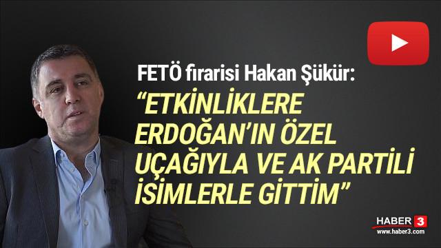 Hakan Şükür: ''FETÖ etkinliklerine Erdoğan'ın uçağıyla gittim''