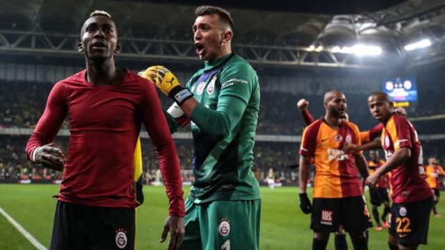 Galatasaraylı Feghouli ve Muslera'dan açıklamalar
