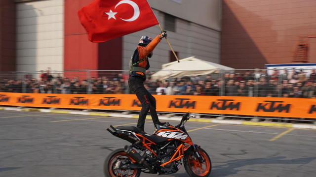 Motobike İstanbul ziyaretçi rekoru kırdı