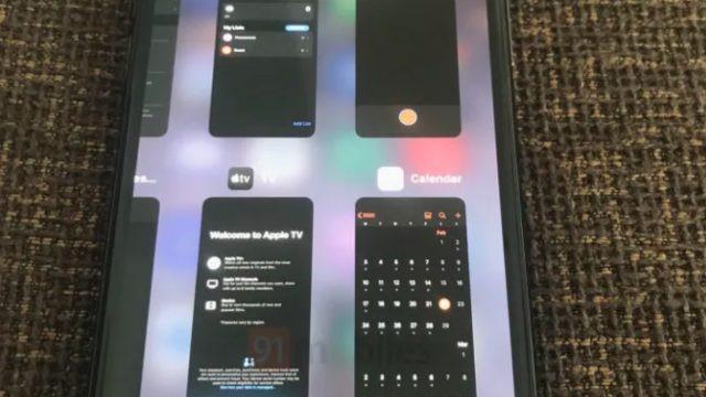 Apple'ın yeni işletim sistemi iOs 14'ten ilk görüntü geldi