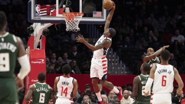 Washington Wizards-Milwaukee Bucks: 134-137 (Bradley Beal 55 sayı attı)