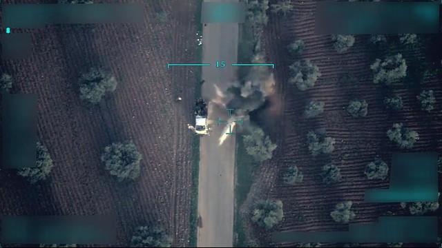 Suriye'den flaş iddia: Türkiye'ye ait İHA düşürüldü