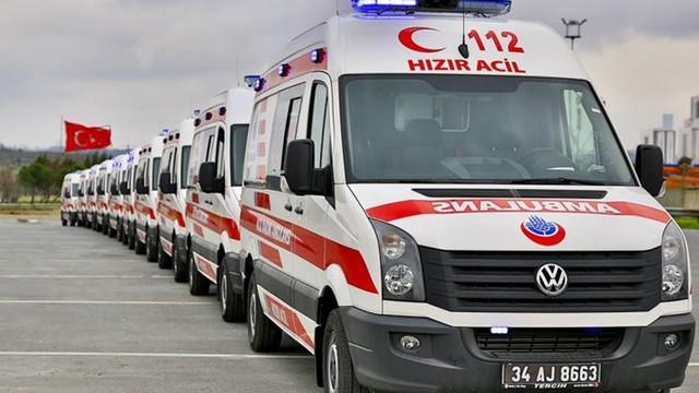112 Ambulans'ta yeni dönem ! Sinyalle tespit edilecek