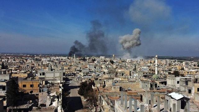 İdlib'deki hain saldırı dünya basınında: ''Rus uçakları Türk askerini vurdu''