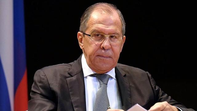 Rusya Dışişleri Bakanı Lavrov'dan Suriye açıklaması