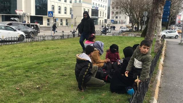 Vatan Caddesi'nde sığınmacı yığını !