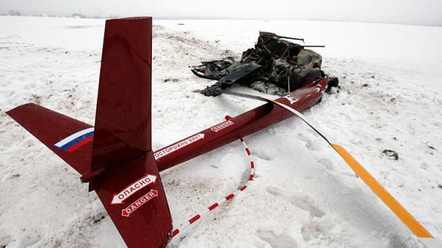 Rusya'da helikopter faciası
