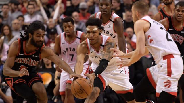 Toronto Raptors-Chicago Bulls maç sonucu: 129-102