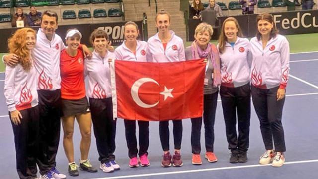 Tenis Milli Takımı, Lüksemburg'u mağlup etti