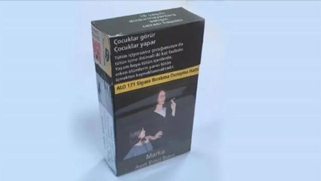 Yeni sigara paketleri amacına ulaştı !