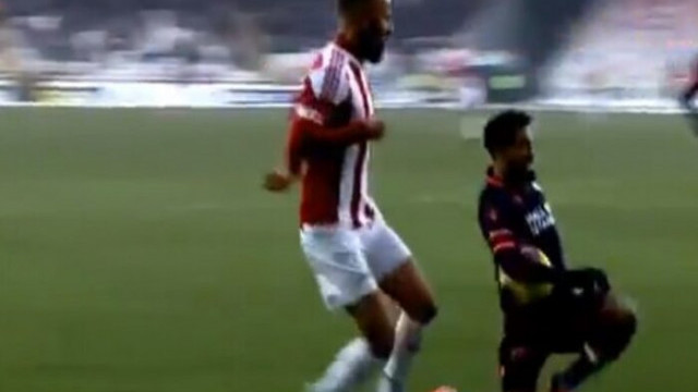 Sivasspor - Başakşehir maçında penaltı tartışması
