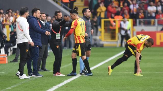 Göztepe'de Serdar Gürler şoku