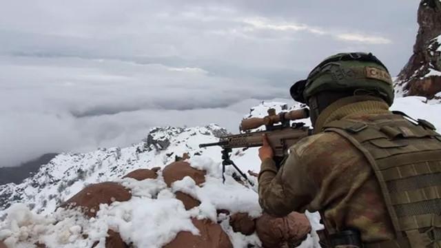 PKK'ya bir darbe daha! 11 terörist öldürüldü