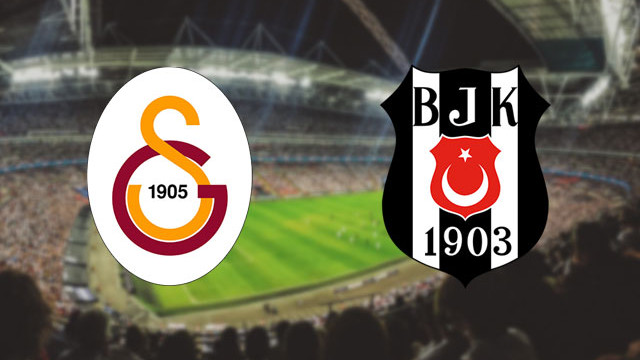 Galatasaray - Beşiktaş derbisinde ilk 11'ler belli oldu