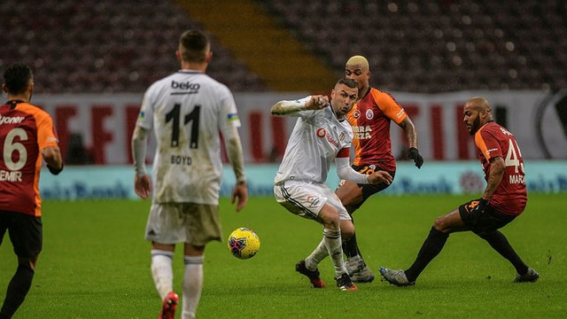 Sessiz maçta sessiz son! Galatasaray: 0 - Beşiktaş: 0