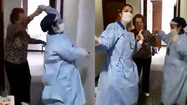 Karantina otelinde dans!
